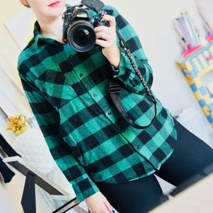 Madewell Flannel Sunday Shirt in Buffalo Check